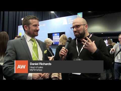 Accountex North 2018: Tom Herbert interviews Daniel Richards from MyFirmsApp