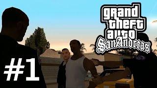 "GTA San Andreas #1 DETONADO ""Cheguei nessa p..."" PT-br"