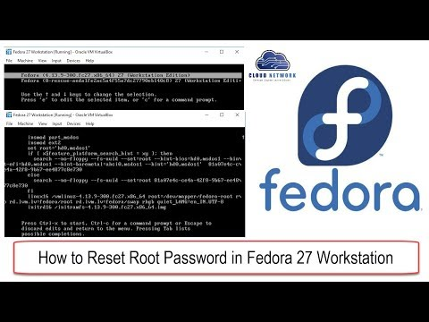 Changing the root password in linux