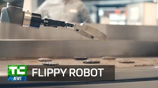 Miso Robotics Flippy Robot flips burgers like it