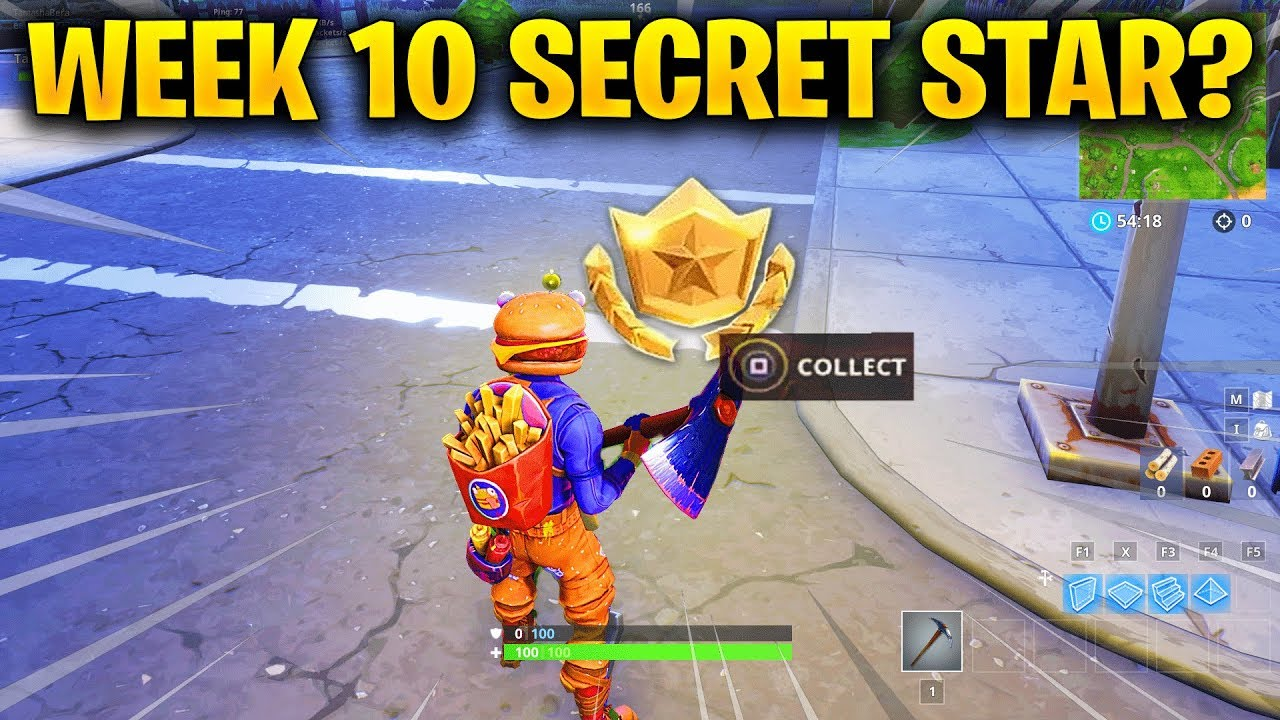 Week 10 Secret Battle Star Replaced By Evil Cube Challenges In
