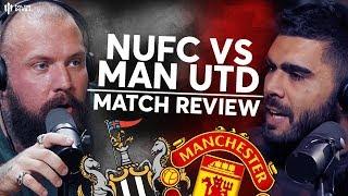 Is Ole's Time Up? | Newcastle 1-0 Man United | True Geordie Fancam