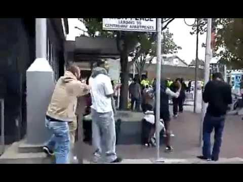 East London: Ilford Riots 2011 08/08/11