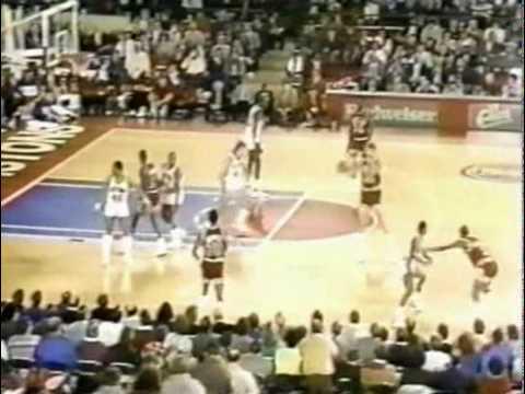 MICHAEL JORDAN: 61 Pts Vs Detroit Pistons  (1987.03.04)
