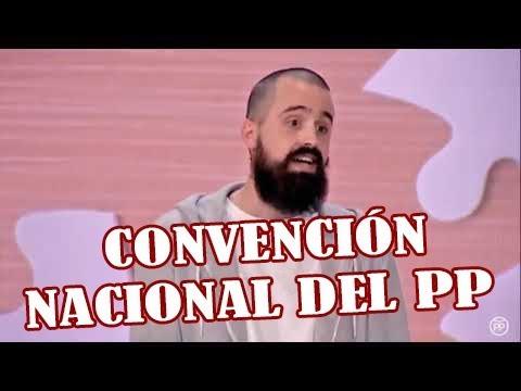 Jaume Vives no se corta un pelo en la Convención Nacional del PP
