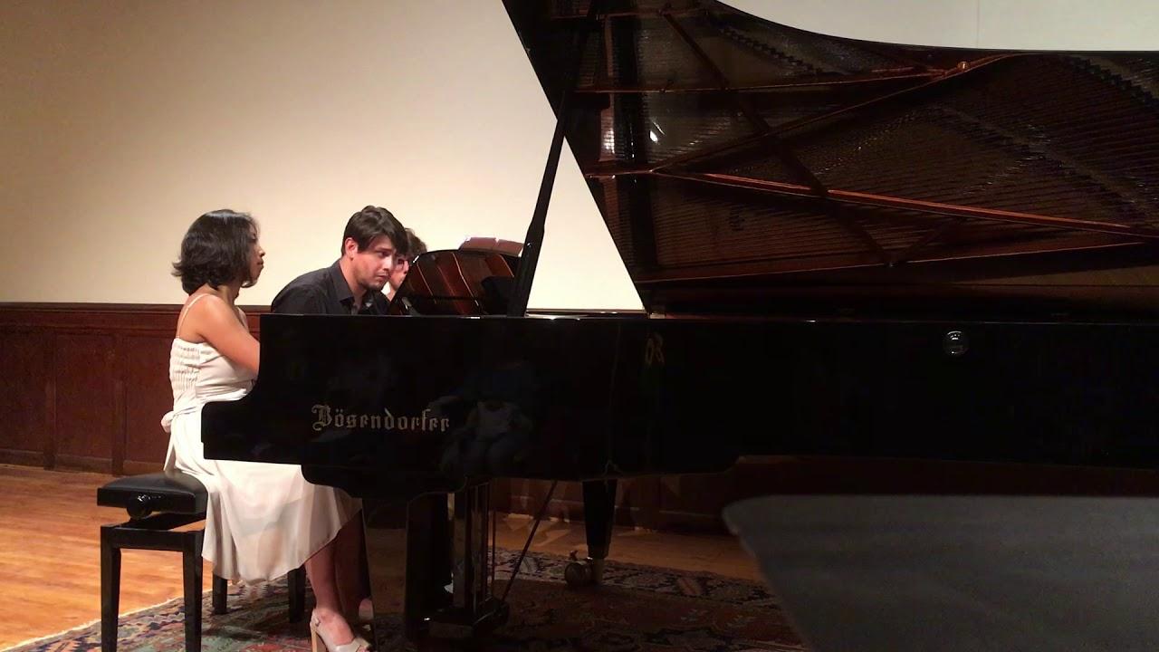 Debussy: 6 Épigraphes antiques, par Kaoli Ono & Sylvain Haderlé