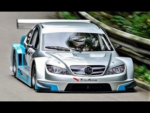 Mercedes DTM inspired 11.000Rpm Monster // 200Hp/450Kg TracKing RC01 - Crazy Onboard
