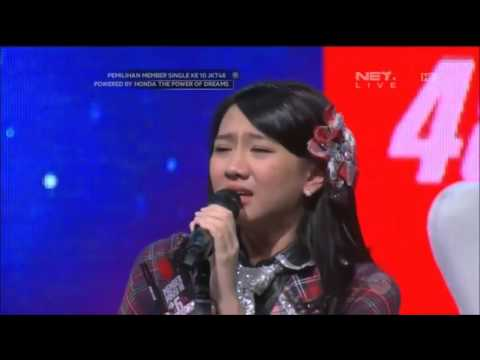 JKT48 SSK2016 Speech - Shania Junianatha