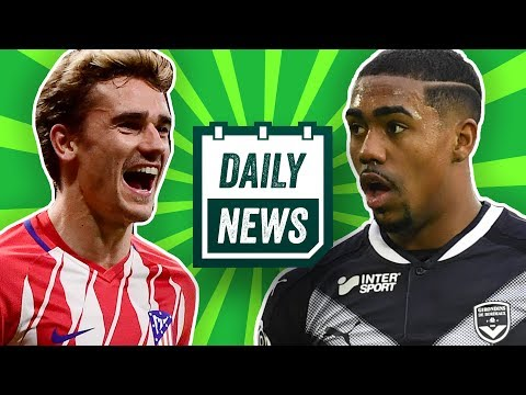 Wohin geht Griezmann? Malcom will zum FC Bayern! Upamecano zum FC Barcelona? Daily News