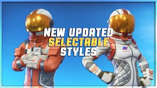 *NEW* FREE SELECTABLE STYLES FOR MISSION SPECIALIST & MOONWALKER (SHOWCASE) (Fortnite Battle Royale)
