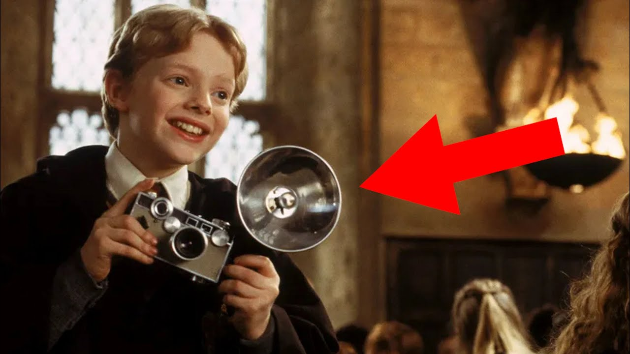 The Analog camera used in Harry Potter