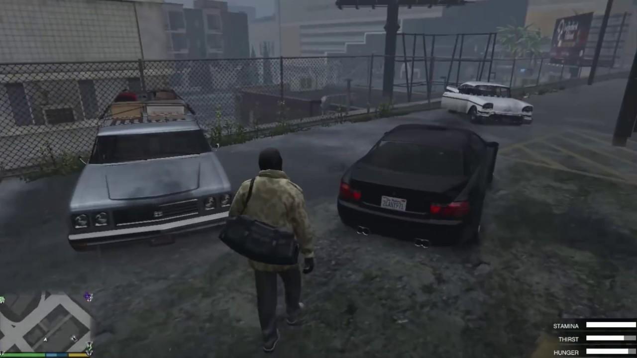 ზომბების შემოსევამ შემიწირა  GTA 5 ქართულად
