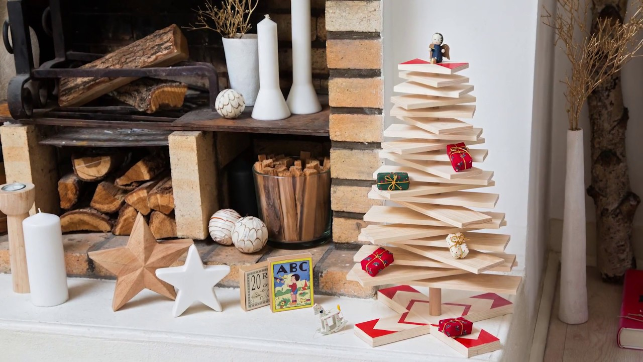 Fabriquer Des Sapins De Noel comment fabriquer un sapin de noël en bois woody