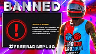 2K BANNED ME FOR LIFE AFTER I EXPOSED NBA 2K20! LEGEND ACCOUNT GONE!!