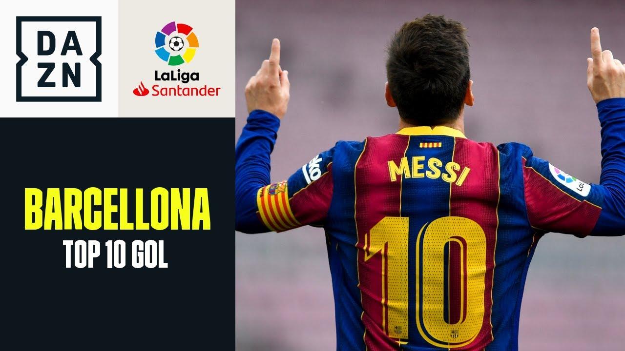 Barcellona: Top 10 gol 2020-2021