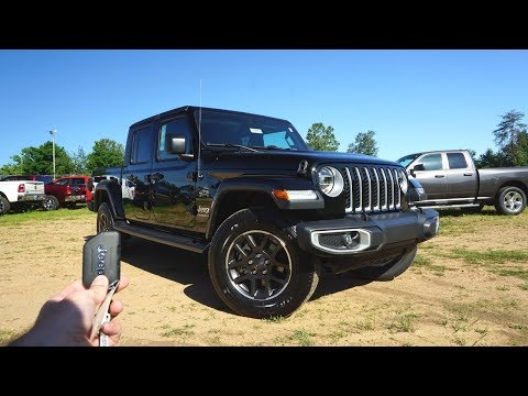 2020 Jeep Gladiator Overland: Start Up, Walkaround, Test Drive and Review