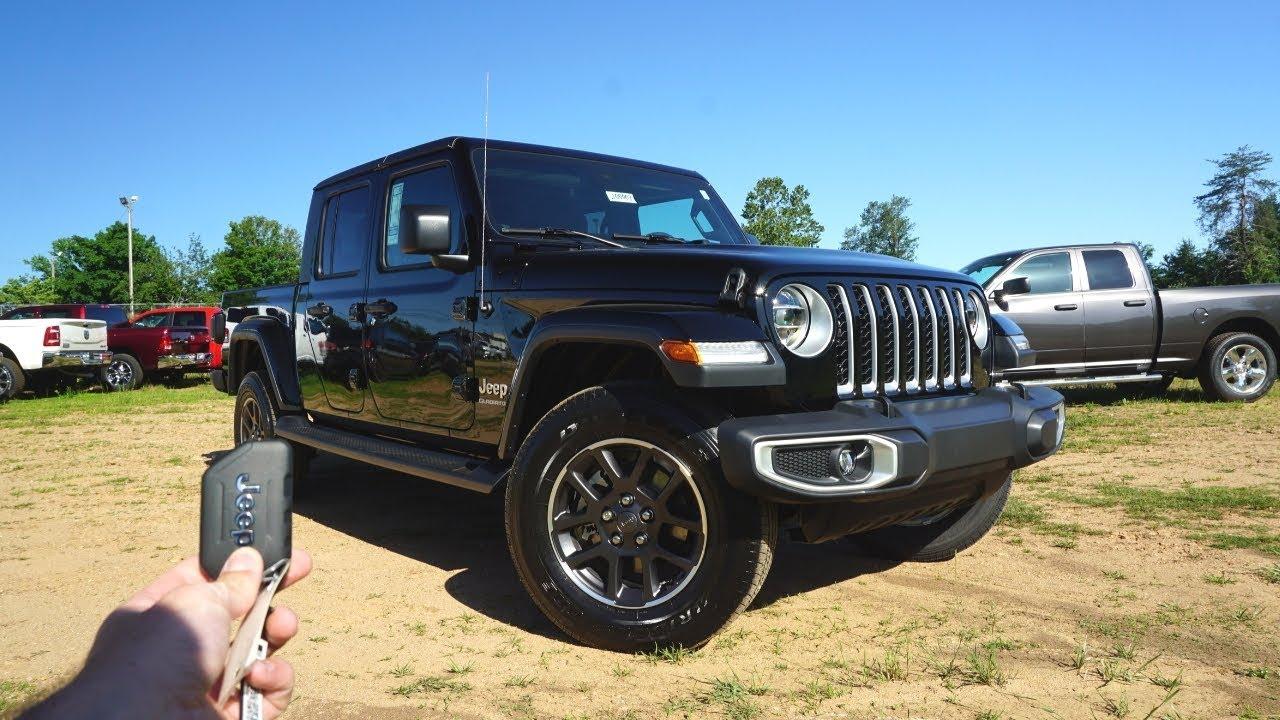 2020 Jeep Gladiator Overland Black