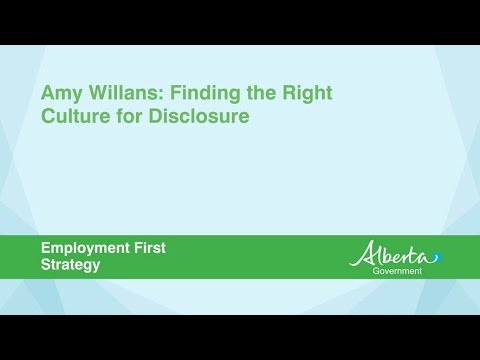 Disclosing a Disability: Finding the Right Culture to Disclose