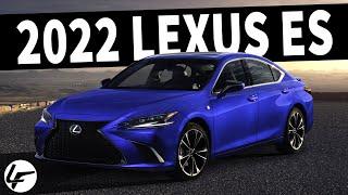 FIRST LOOK! 2022 Lexus ES Seeks to DOMINATE the Luxury Sedan Market