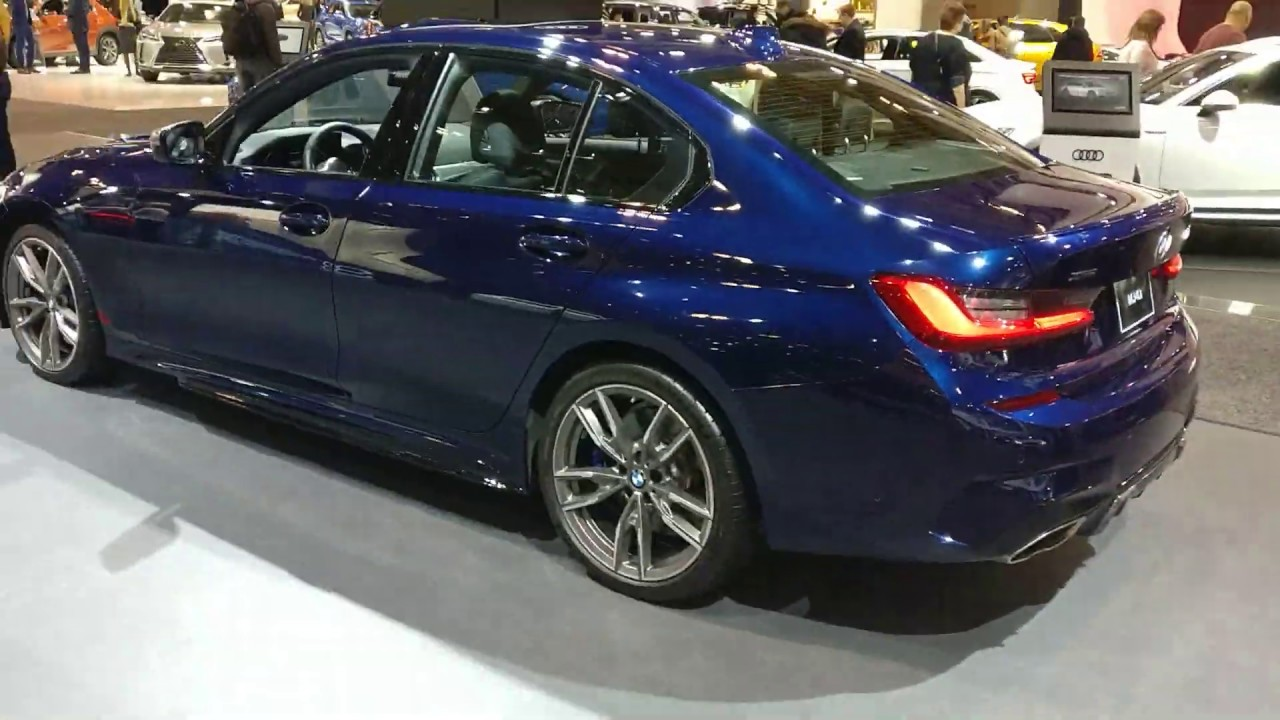 Bmw Toronto G20 Tanzanite Blue Metallic 2020 Bmw M340i