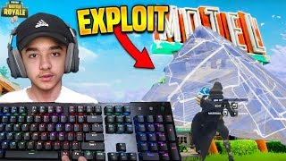Brecci Pro PC Player SHOCKED at *NEW* Pyramid Bhop Exploit He Found in Fortnite!