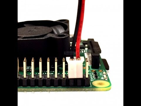 How to install Raspberry Pi 2 and 3 fan