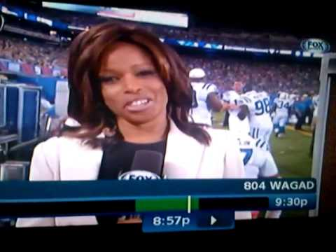 Pam Oliver takes one to the FACE