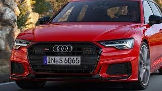 В обзоре новый седан Audi S6 и универсал Audi S6 Avant 2019-2020 с двумя новыми моторами
