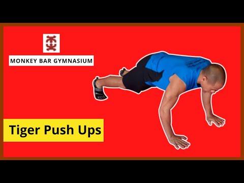 16. Tiger Push-up