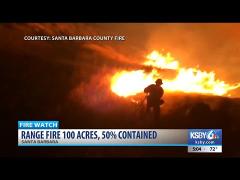 UPDATE: Range Fire 100 acres, 75% contained