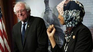 Bernie Sanders and Ilhan Omar