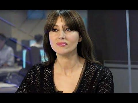 Monica Bellucci in the studio EL PAÍS