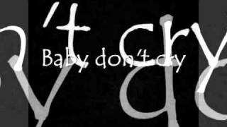 INXS Baby Don T Cry