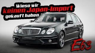 Mercedes E63 AMG W211 im Traum Zustand! | Über Existenzangst im Autohandel & Autos als Wertanlage