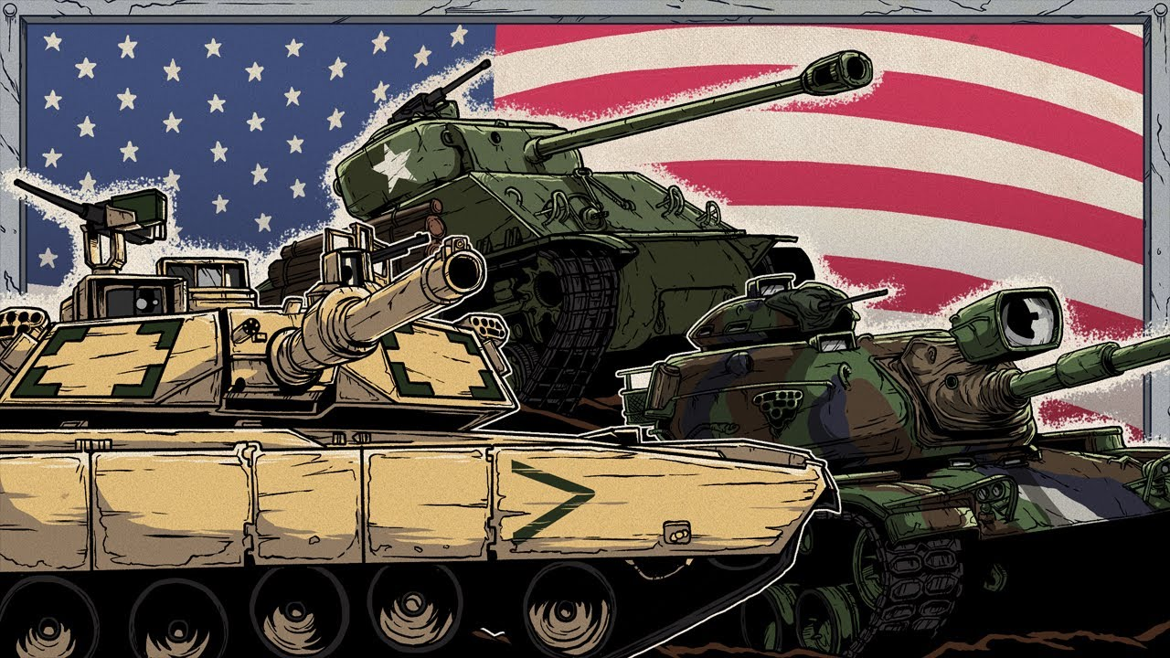 Download Evolution of American Tanks   Animated History