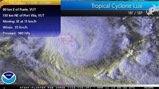 Tropical Cyclone Lusi provides heavy rain for Vanuatu, weekend storm for New Zealand