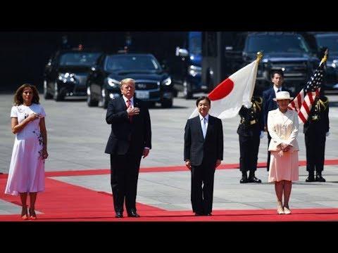 ترامب أول زعيم أجنبي يلتقي امبراطور اليابان الجديد  - نشر قبل 2 ساعة