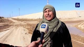 مياه الأمطار تغلق نفق حوشا وتشكل خطرا على حياة المواطنين (20/11/2019)