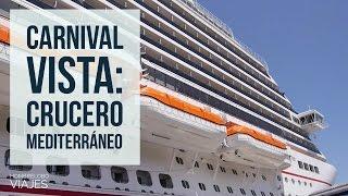 Carnival Vista Crucero por el Mediterráneo vemos el camarote CRUCERO MEDITERRANEO 1