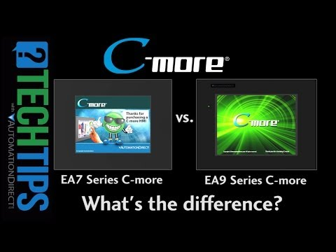 Tech Tip: C-more EA9 vs C-more EA7 - What's the difference?