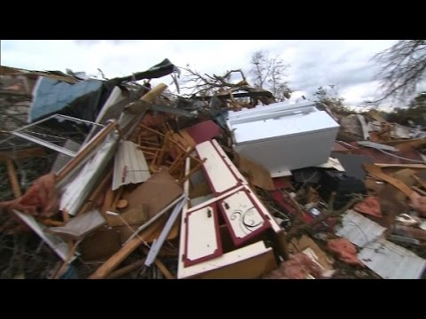 Search for people missing after Georgia tornadoes