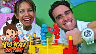 Yo Kai Watch Medal Mystery Bags + Rock'em Sock'em Robots !  || Blind Bag Show Ep20 || Konas2002