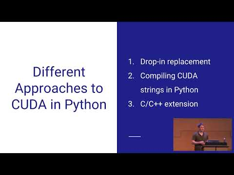 CUDA In Your Python: Effective Parallel Programming On The GPU