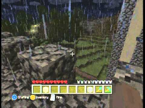 Really cool creations in minecraft xbox 360 edition - YouTube
