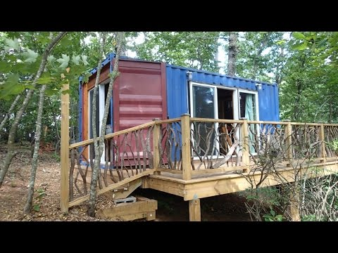 Tiny House Container Home Edition YouTube