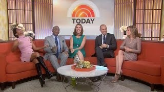 Tamron Hall in shiny boots - 3-Dec-2014