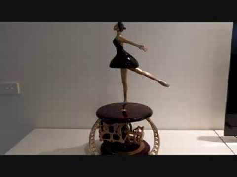 Automata Wind Up Ballerina Clockwork Ballerina Automata