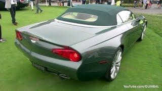 Aston Martin DB9 Spyder Zagato Centennial - Exhaust Sound!