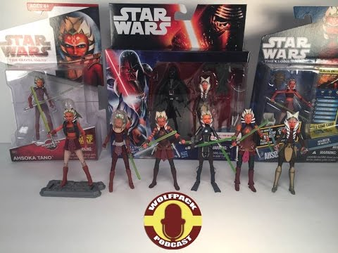 The Evolution Of Ahsoka Tano Action Figures (WolfPack Podcast Special)
