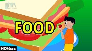 "Nursery Rhymes ""Foods Keeps You Healthy"" ► Food Song for Children ♫"